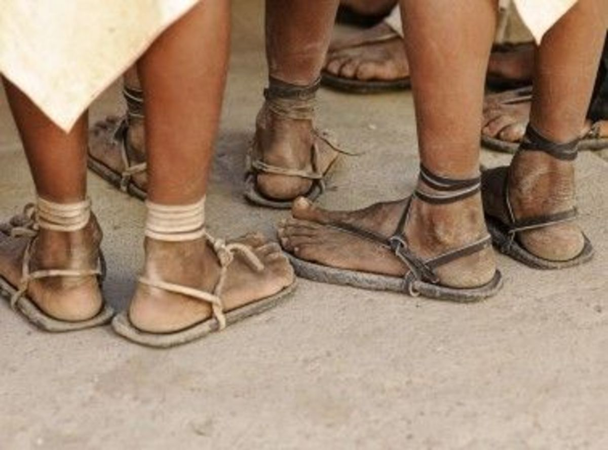 There is a lot of room for creativity when making Huaracha style sandals. This will give you the idea. Just run with it. The sandals are very comfortable - just this side of barefoot.