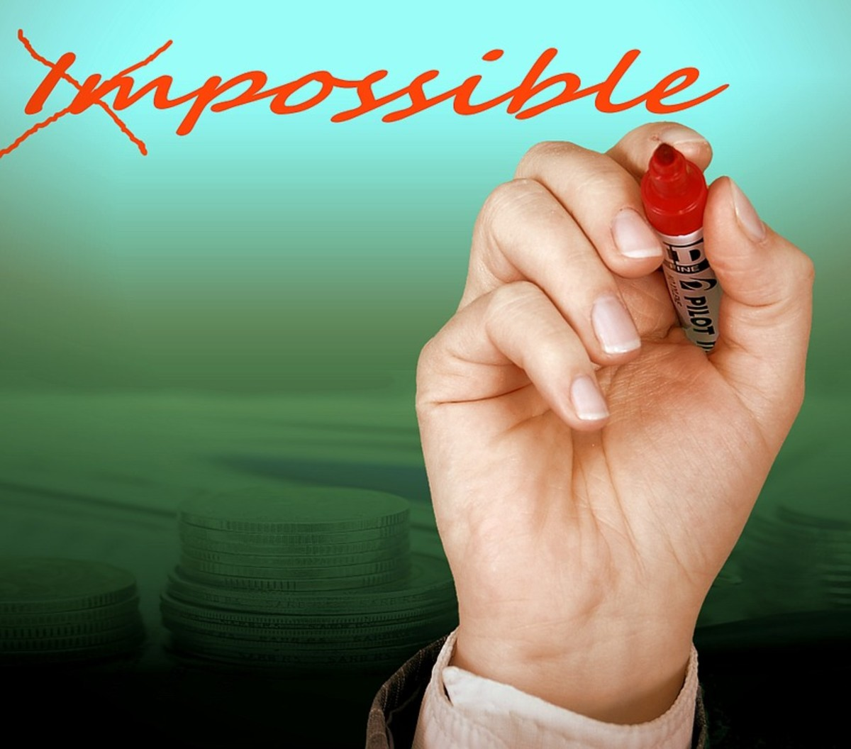 Impossible Things Can Become Possible!