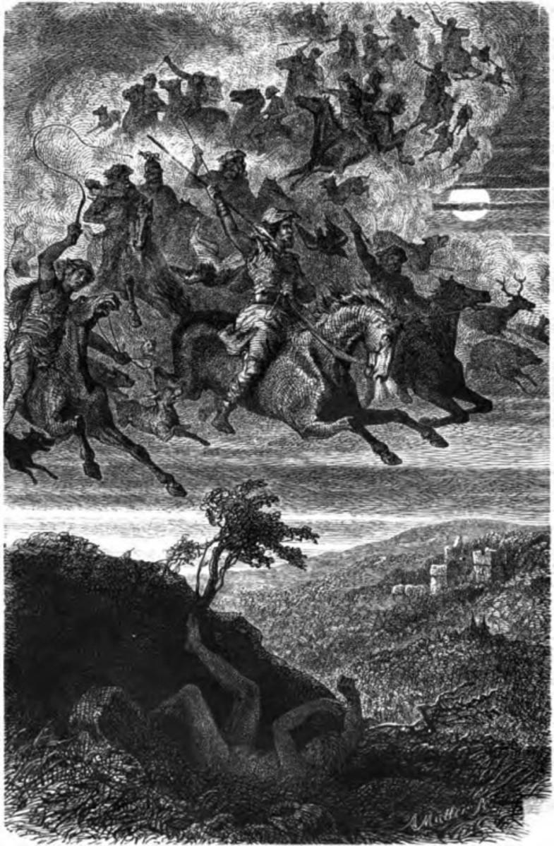 Woden's Wilde Jagd (F.W. Heine 1882)