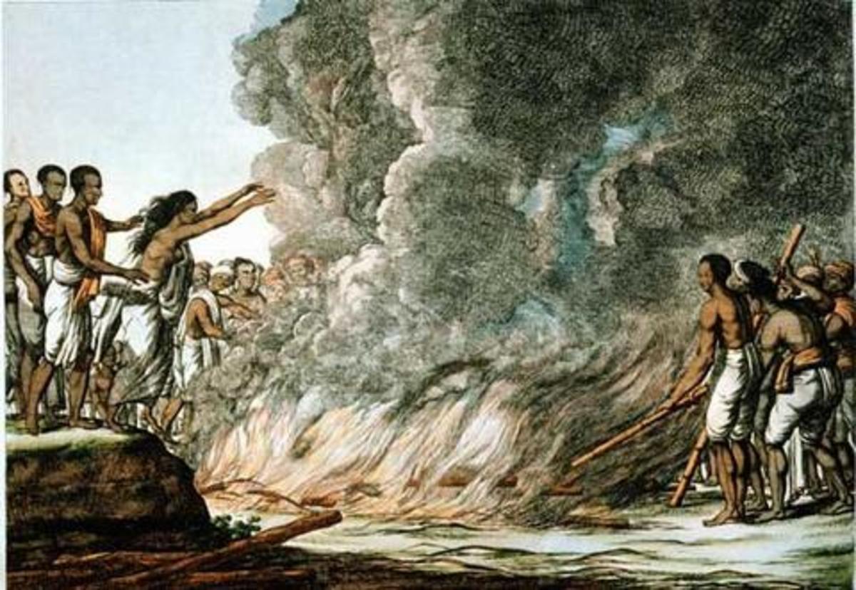 Widow Burning Was an Inherant Part of Hinduism