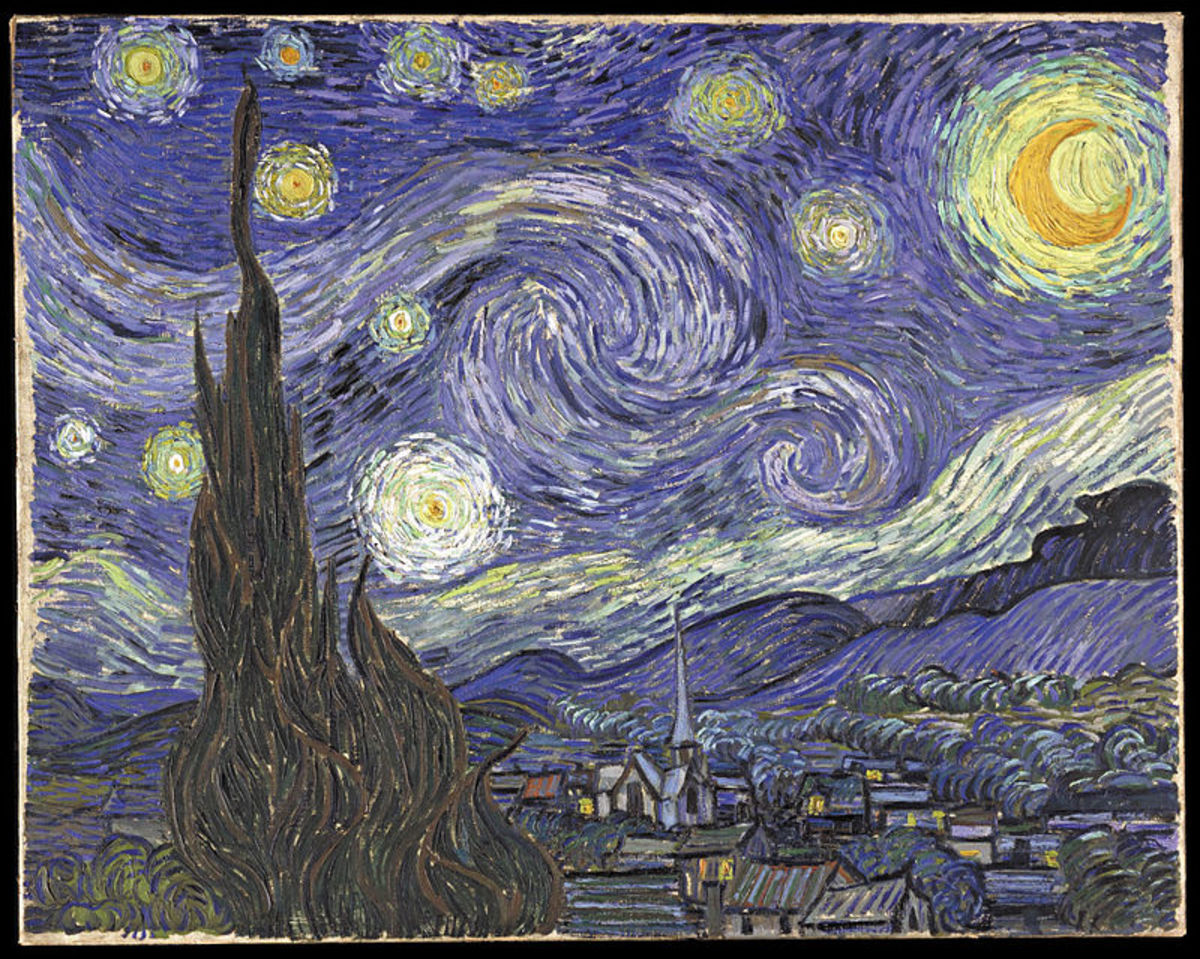 Vincent Van Gogh, Starry Night.