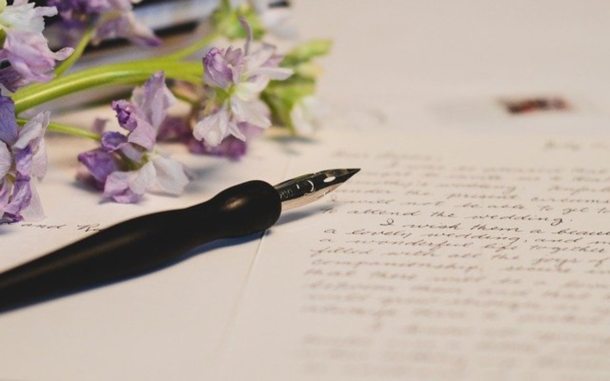 I write and write, jotting down a word or two.