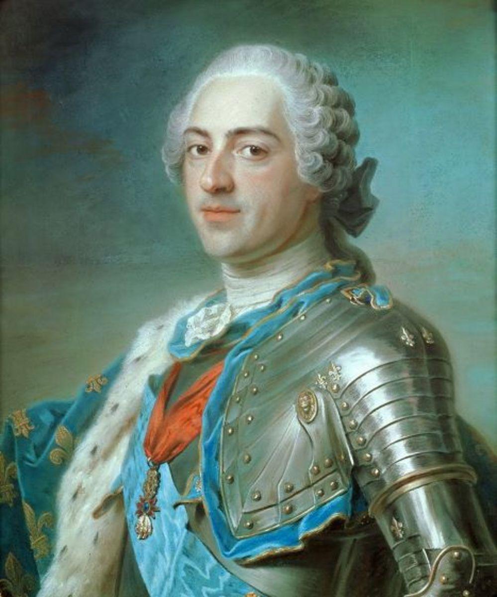 King Louis XV circa 1748. Jeanne captured his heart.