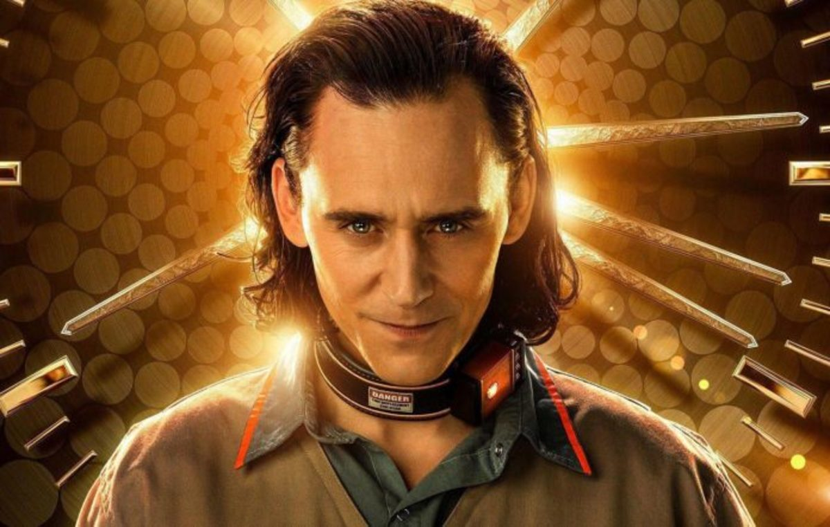 Loki's promotional picture for his tv show.