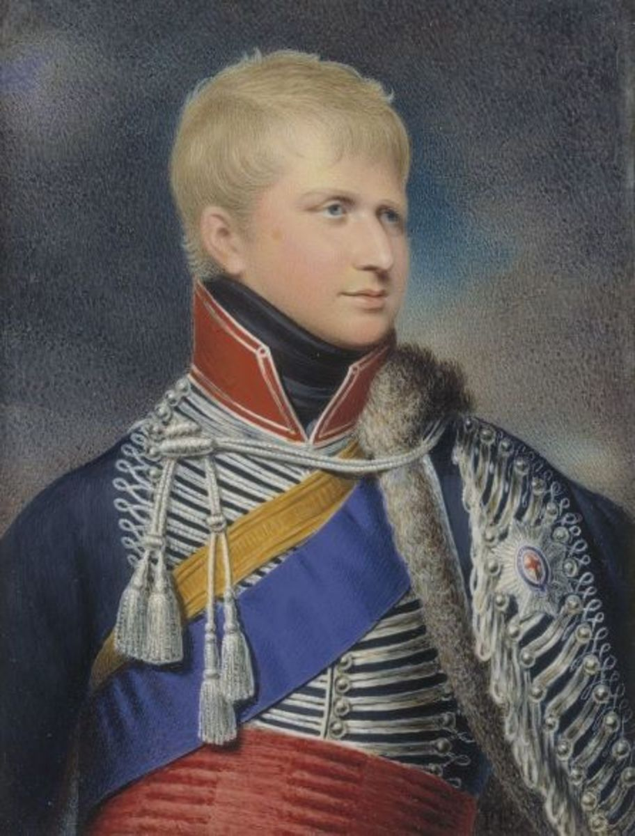 Ernest Augustus, Duke of Cumberland and Teviotdale circa 1823 by Fischer.