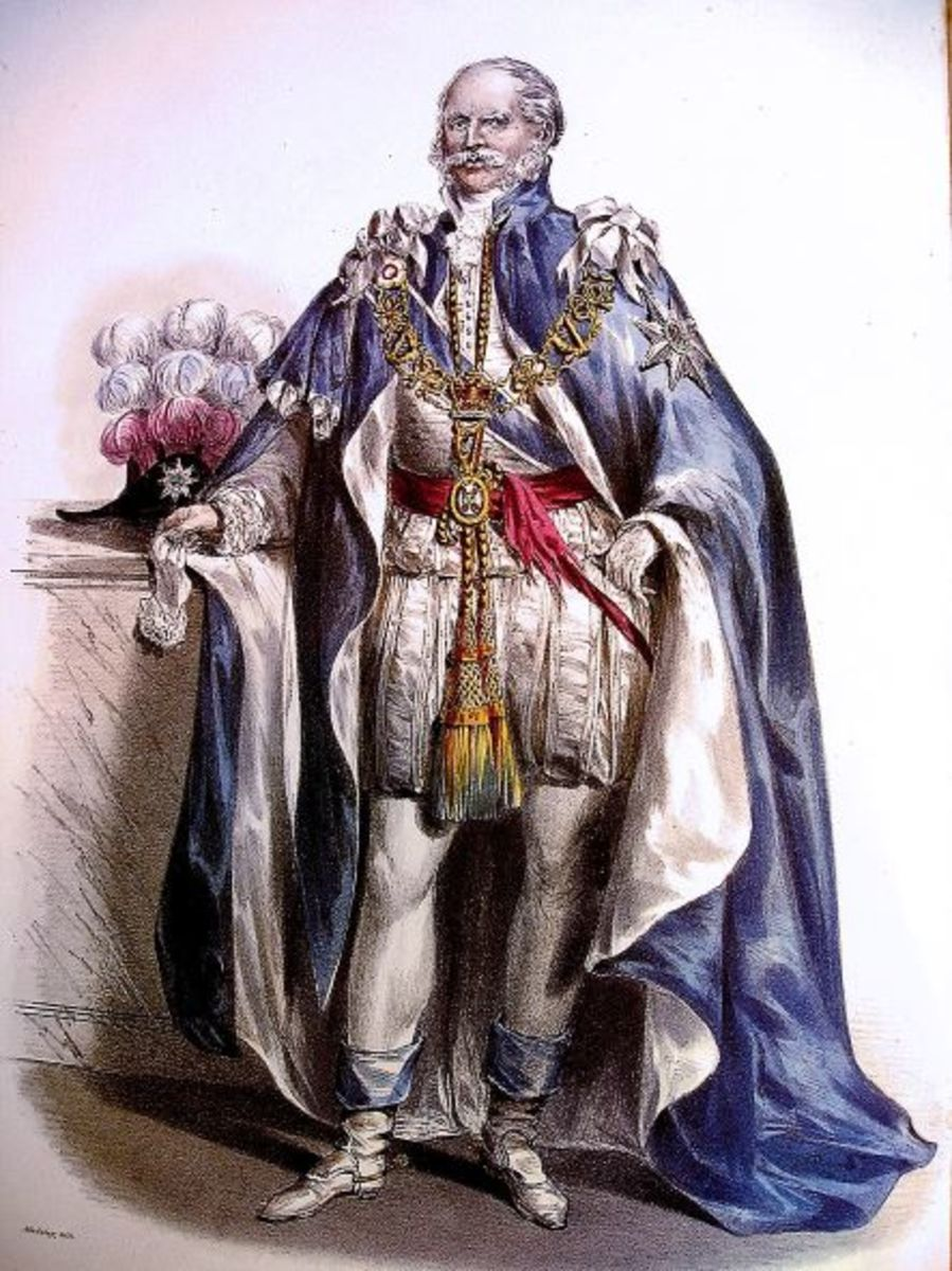 The Duke of Cumberland dressed as a Knight of the Order of St. Patrick.