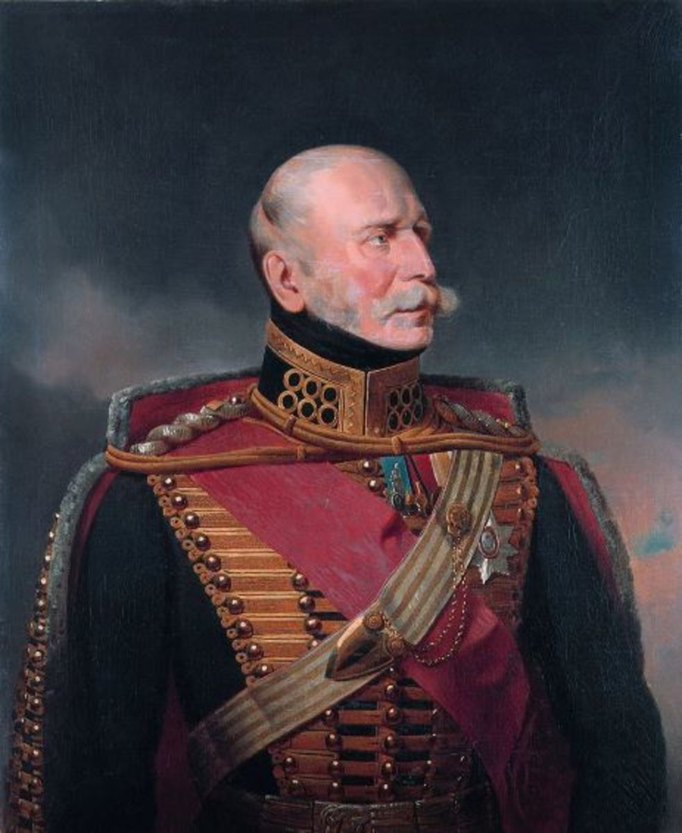 Ernest Augustus, Ernst August in German, King of Hanover 1837-1851.