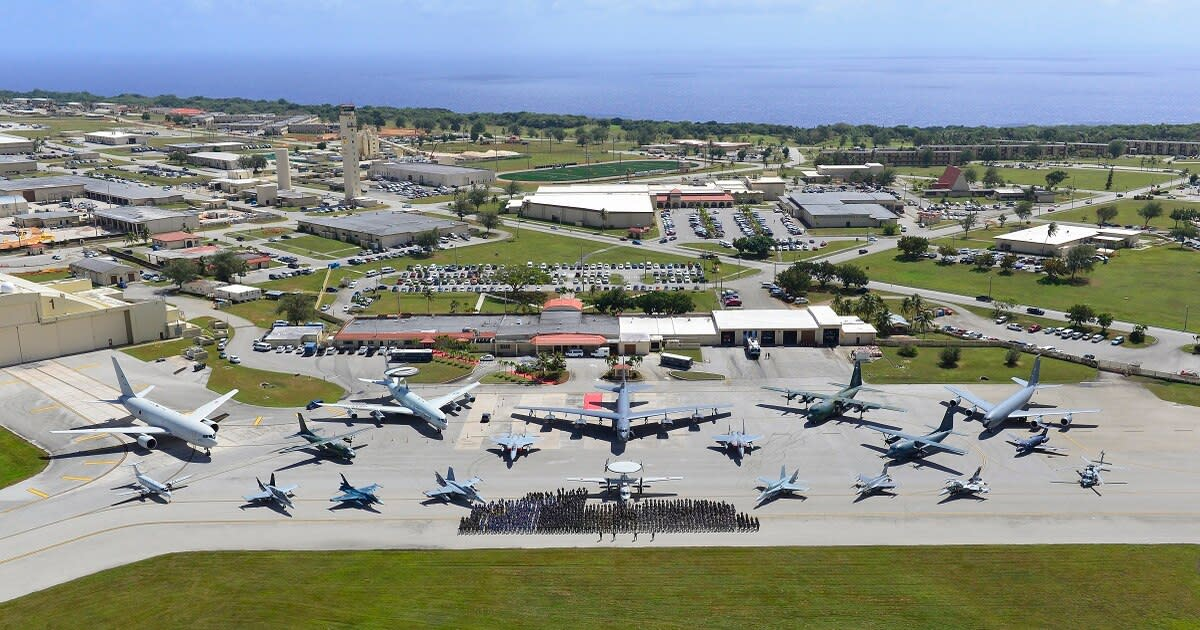 Anderson Air Base Guam