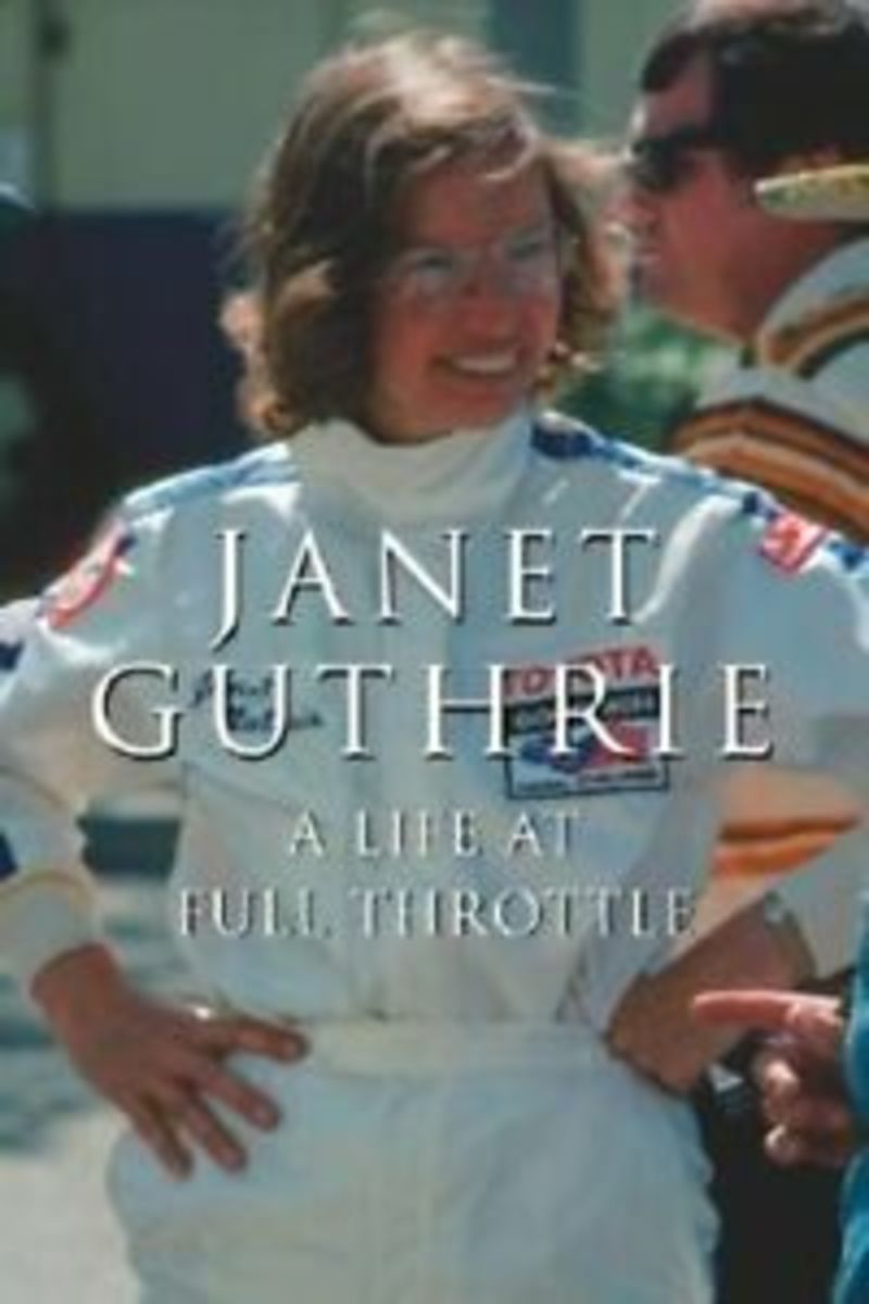 书:珍妮特Guthrie:充分油门的生活