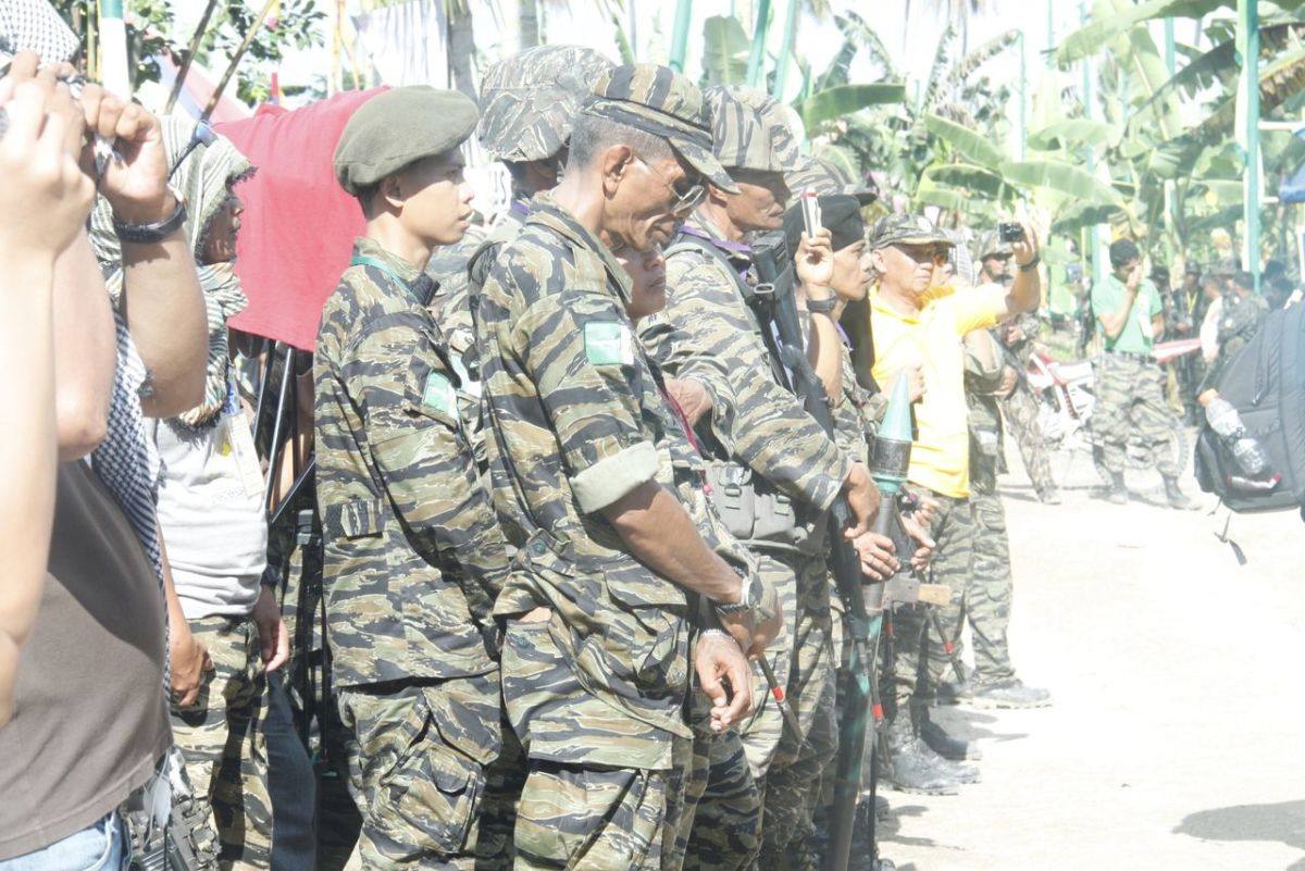 Photo was taken during the Celebration after the signing of the Framework Agreement on the Bangsamoro.
