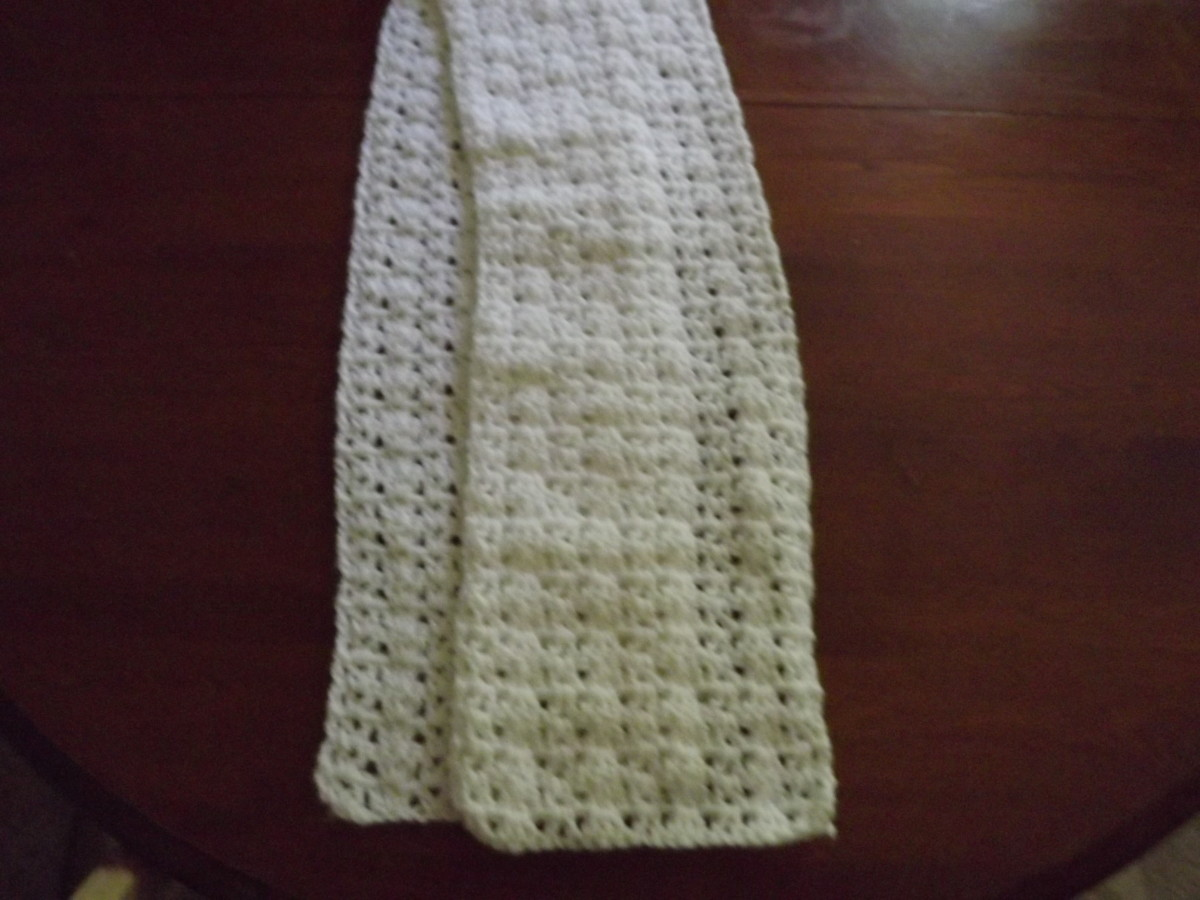 Ashley's Scarf - Barb's Free Crochet Patterns
