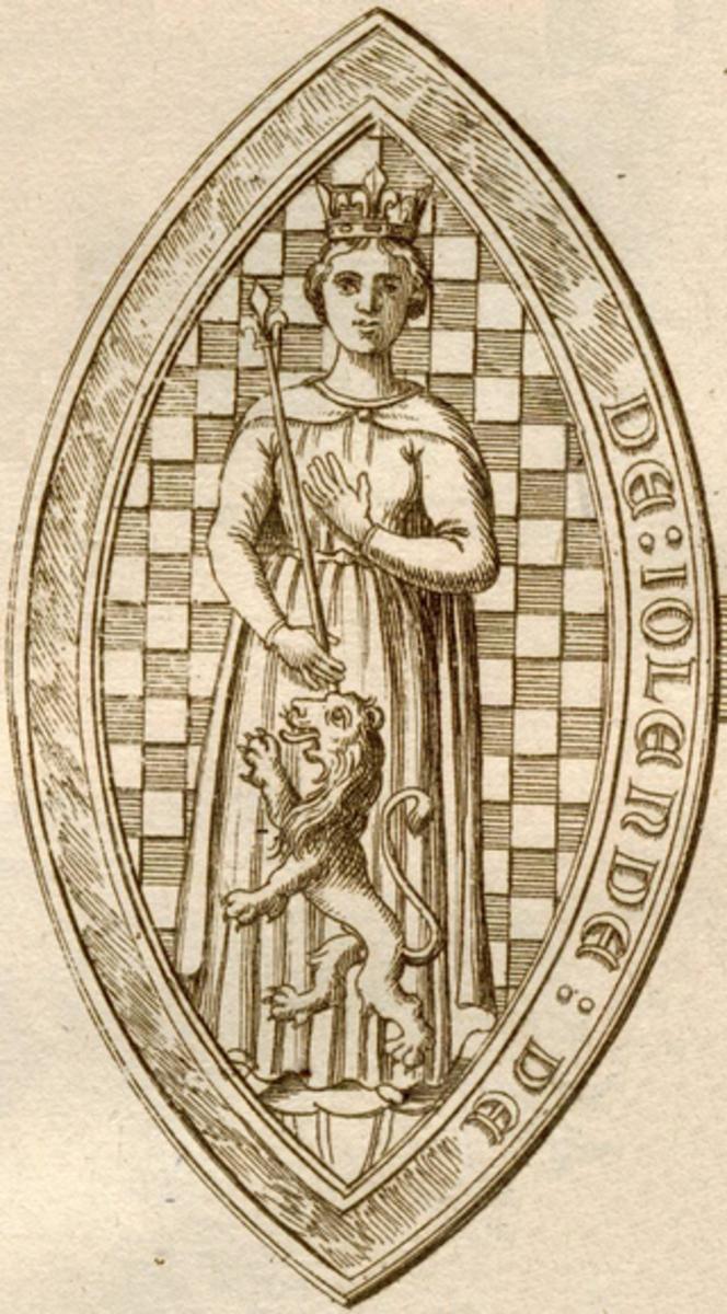 Yolanda of Dreux, Alexander III of Scotland's last queen consort and wife.