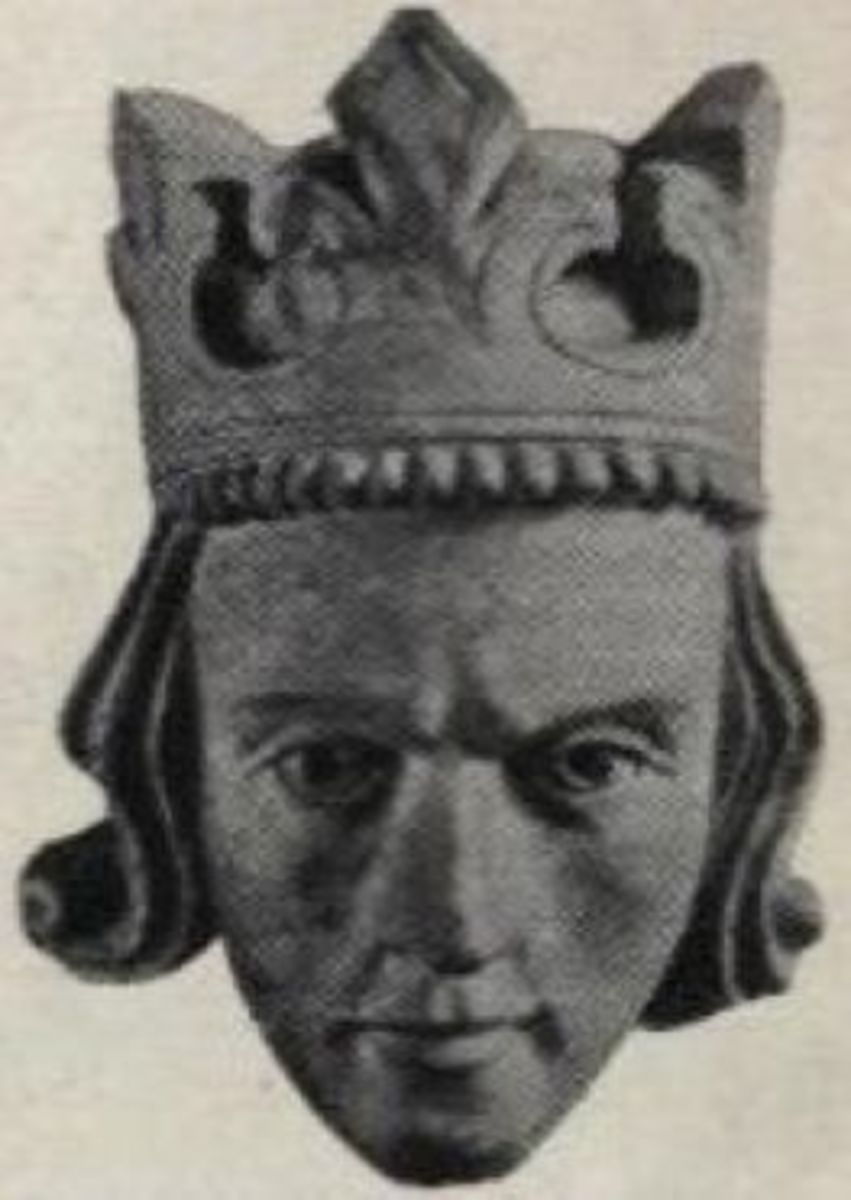 Margaret's father King Eric II of Norway's image at Stavanger Cathedral.