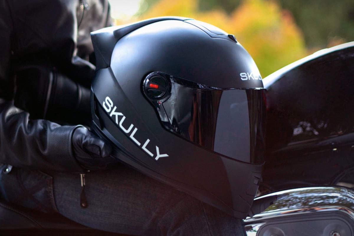 Skully Motorcycle HUD