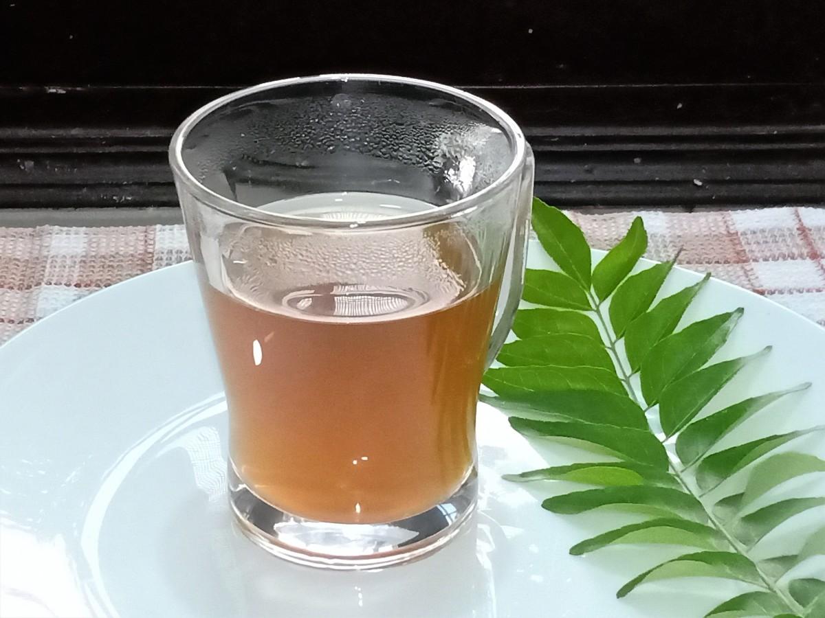 Kadi patta chai