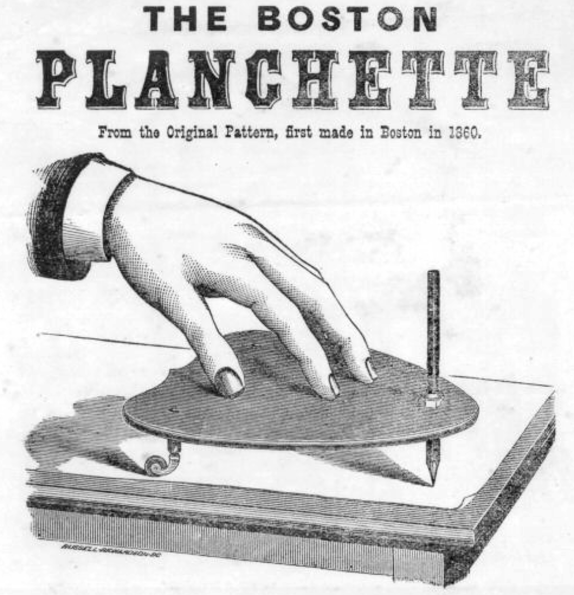 The Boston planchette