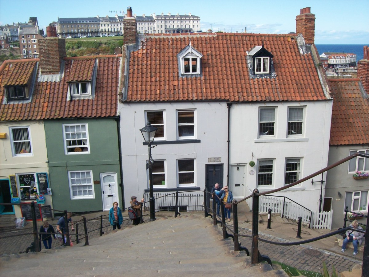 Holiday lets and cottages as you leave the old cobbled shopping area