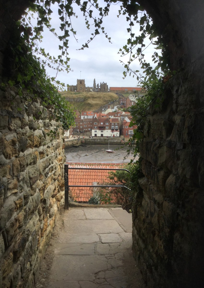 Count Dracula, Abbey Ruins and Whitby Town, North Yorkshire