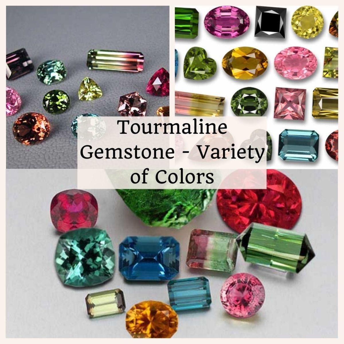 Tourmaline Gemstone Variety of Colors