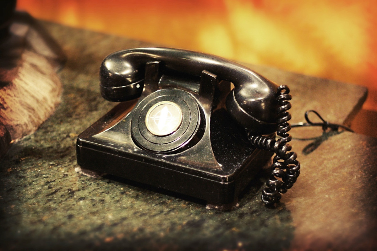 The History of the Telephone Through Photography