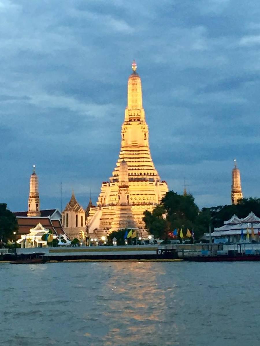 Wat Arun, the Temple of the Dawn in Bangkok, Thailand