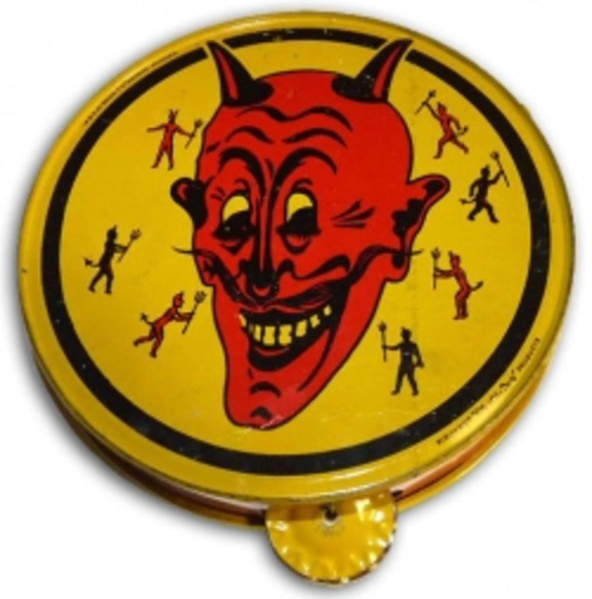Halloween Devil Tambourine Noisemaker