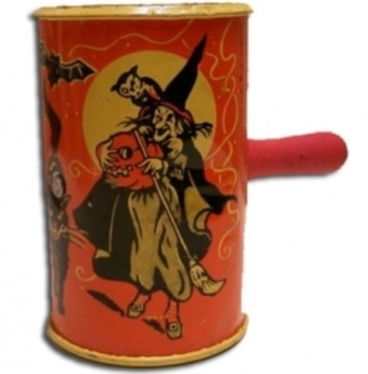 Vintage Halloween Witch Noisemaker