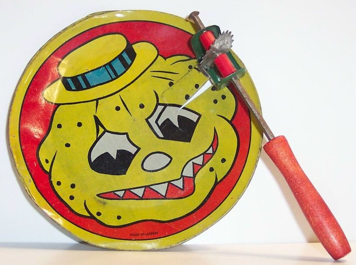 Vintage Halloween Noisemaker
