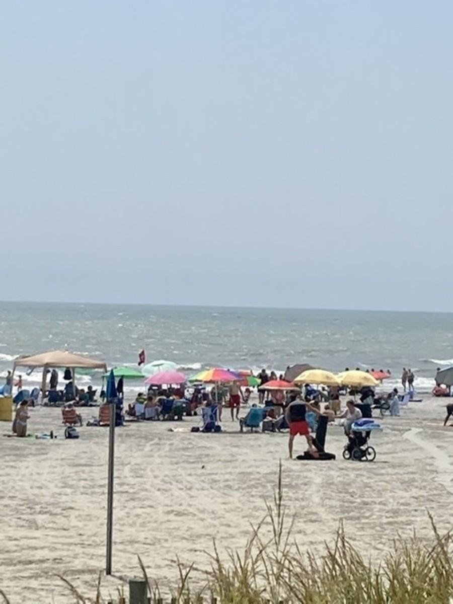 The Atlantic City Beach