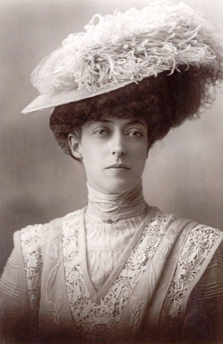 Her Royal Highness Princess Victoria of Wales (1868-1935.)