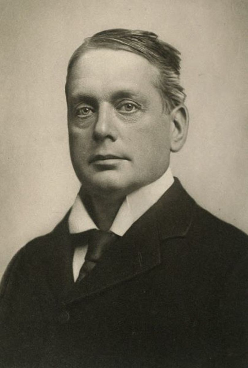 Archibald Primrose, 5th Earl of Rosebery, a former Prime Minister and hopeful suitor.