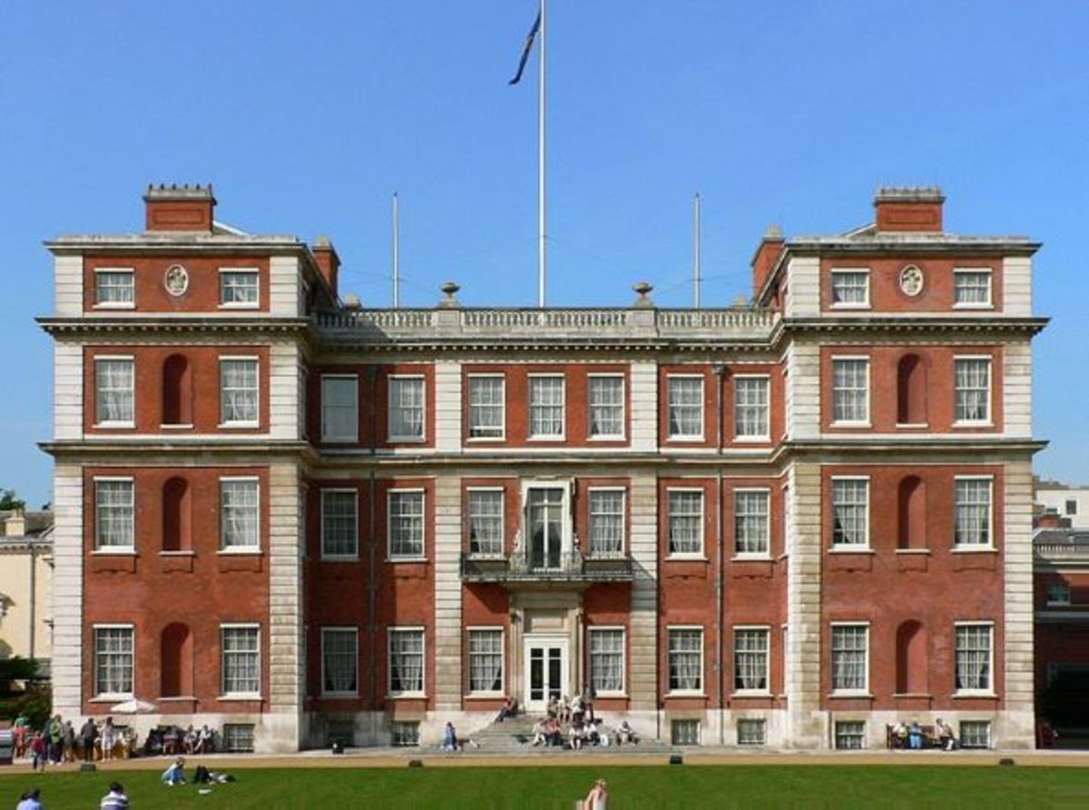 Marlborough House, London today.