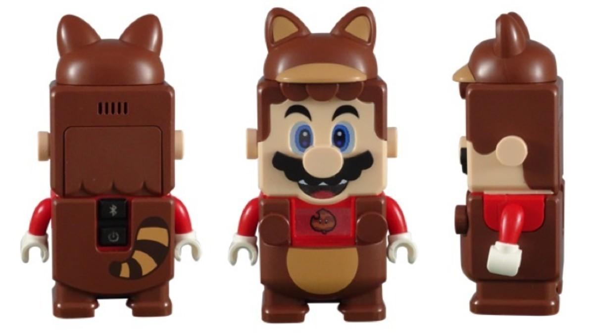 LEGO Mario in Tanooki Suit