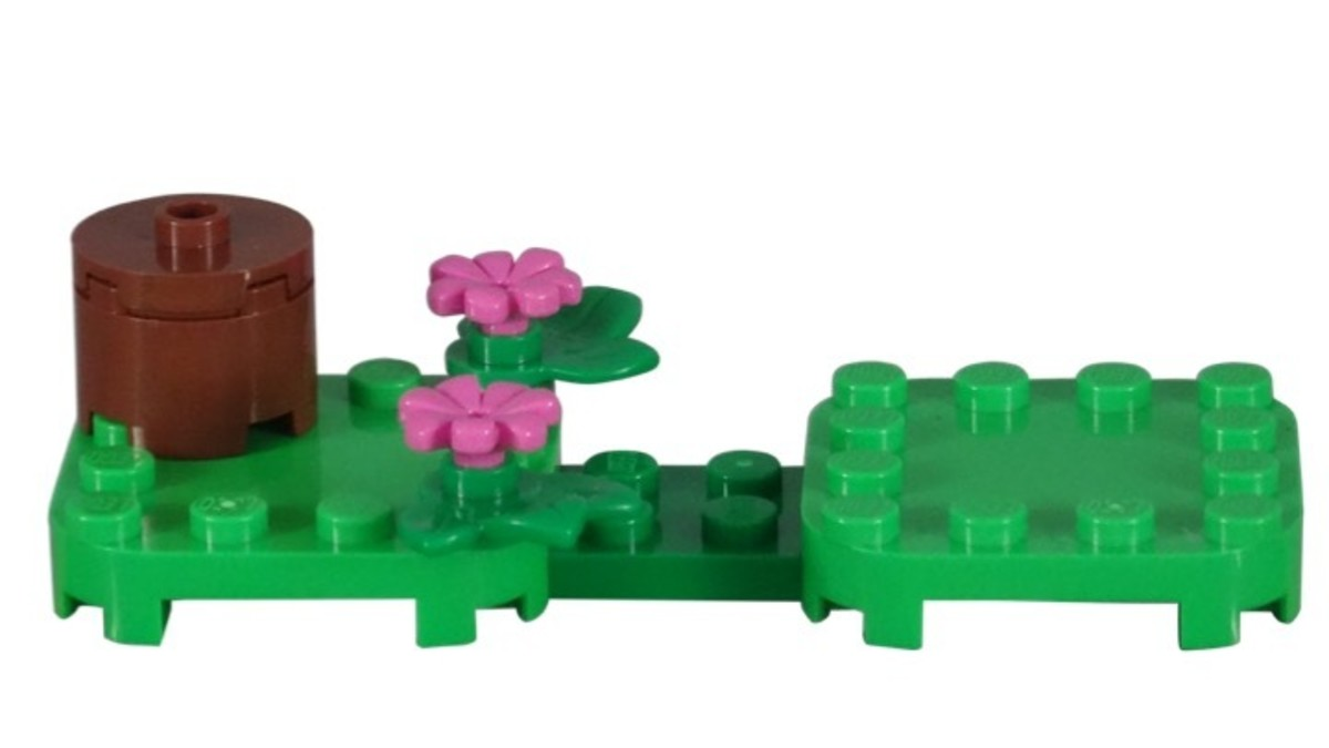 Tanooki Mario Power-Up Pack 71385 Base/Stand