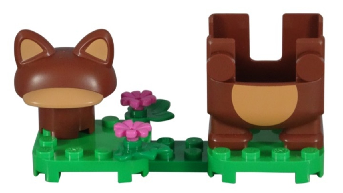 Tanooki Mario Power-Up Pack 71385 Completely Assembled