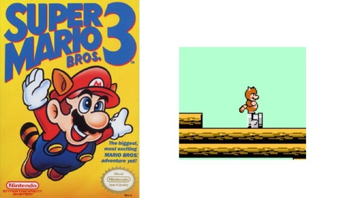 Super Mario Brothers 3 Tannoki Suit