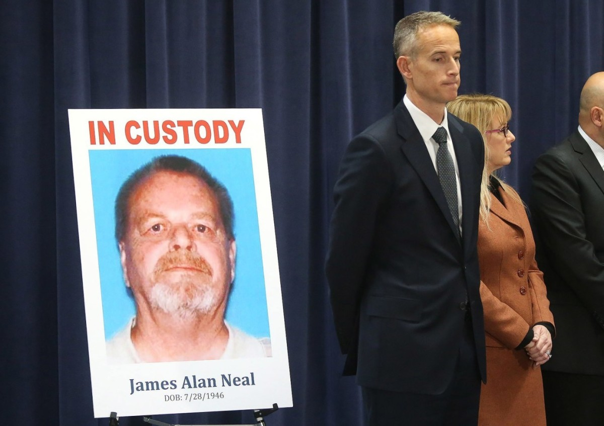 James Alan Neal was arrested in February 2019 in Monument, Colorado, and extradited to California to stand trial. Photo courtesy of the LA Times.