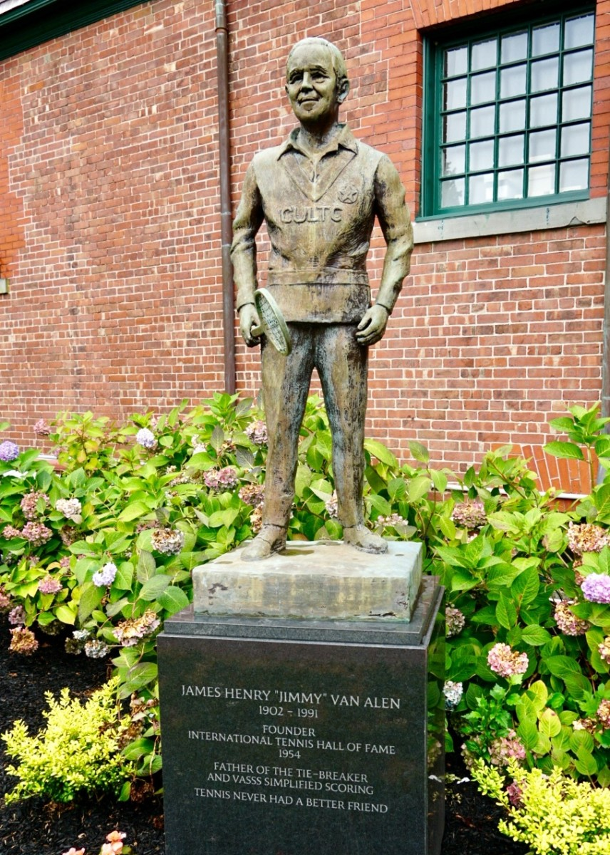 Jimmy Van Alen—Founder of the Tennis Hall of Fame