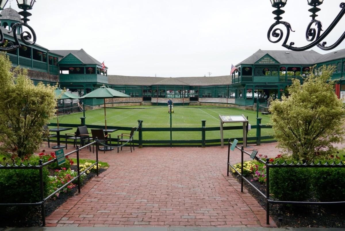 Newport Casino—International Tennis Hall of Fame