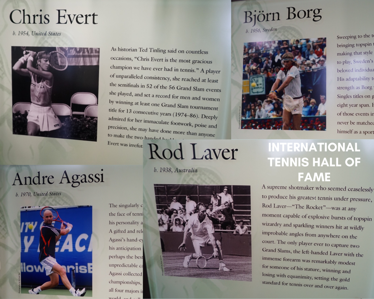 A few of the greats in the Hall of Fame