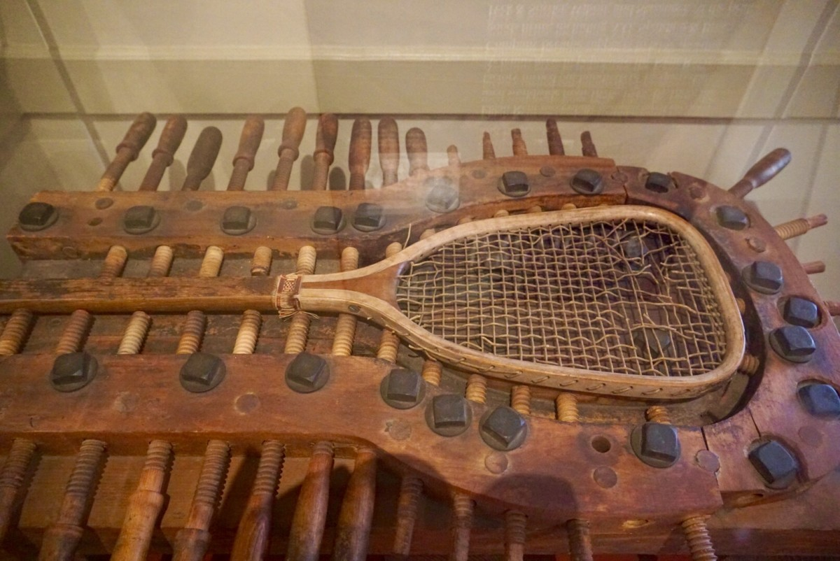 Racket technology has come a long way