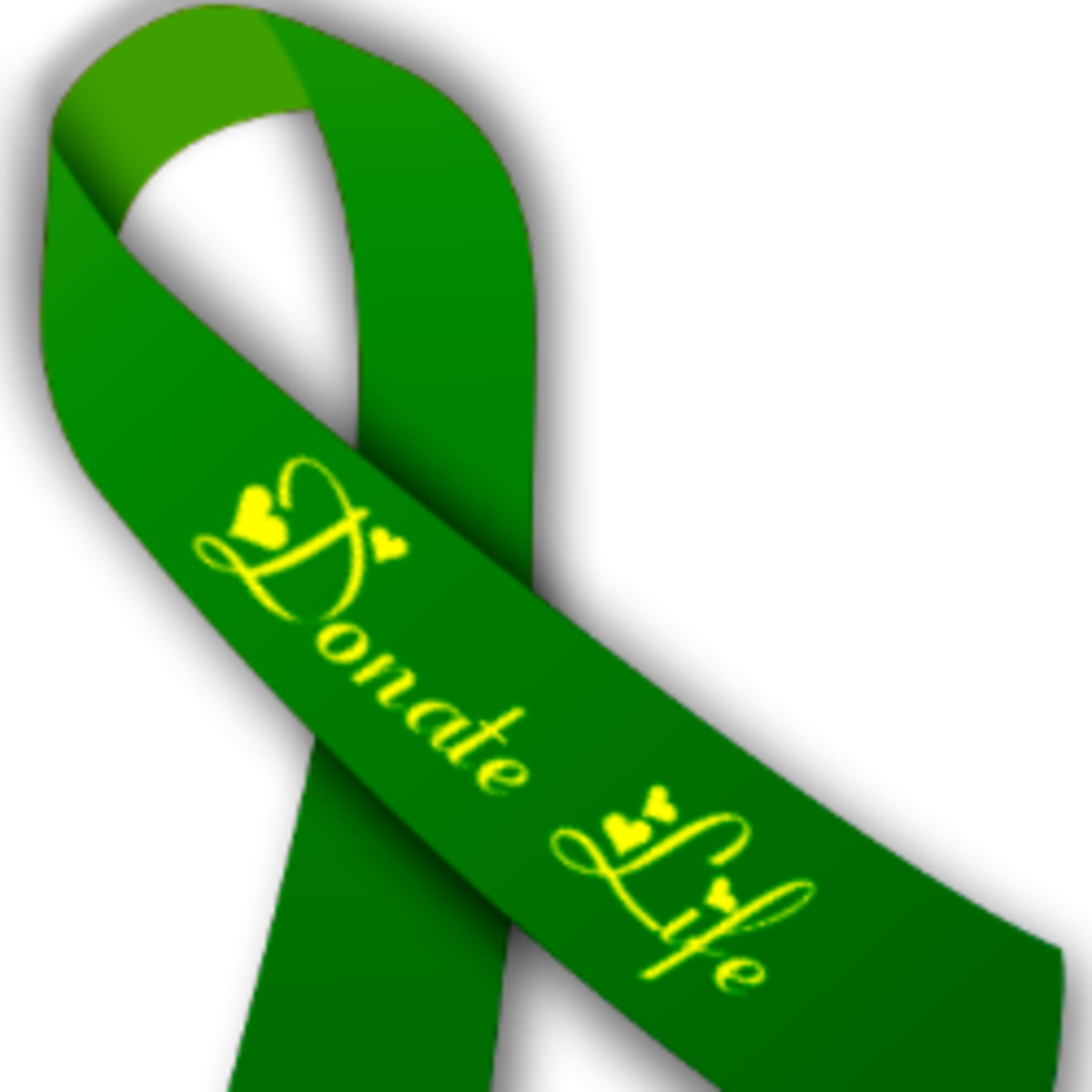 Green Support Ribbon