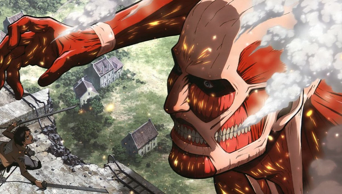 """Attack On Titan"" by Hajime Isayama"