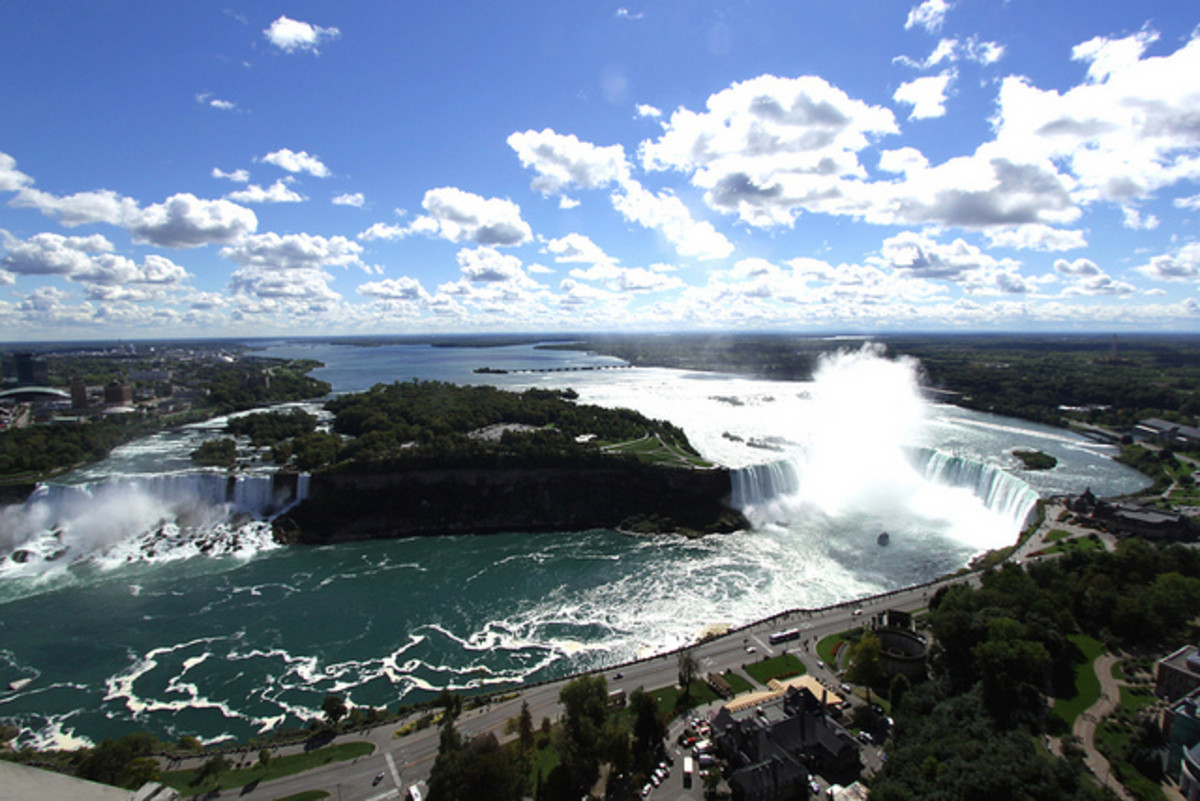 Overview of the Niagara Falls