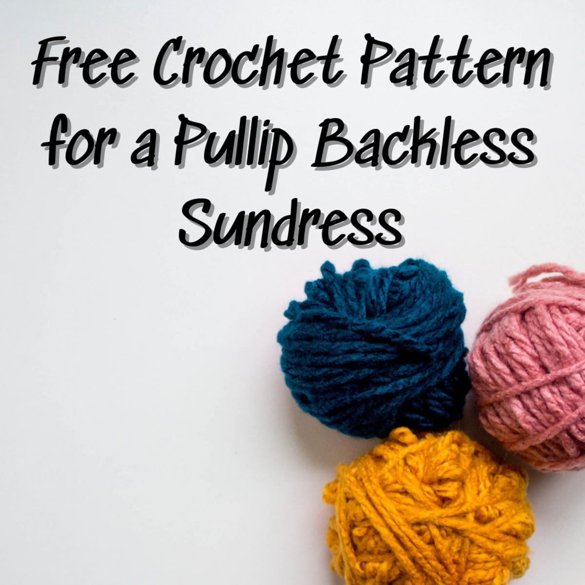 Learn how to crochet a pullip backless sundress for a Barbie doll with the easy, step-by-step guide