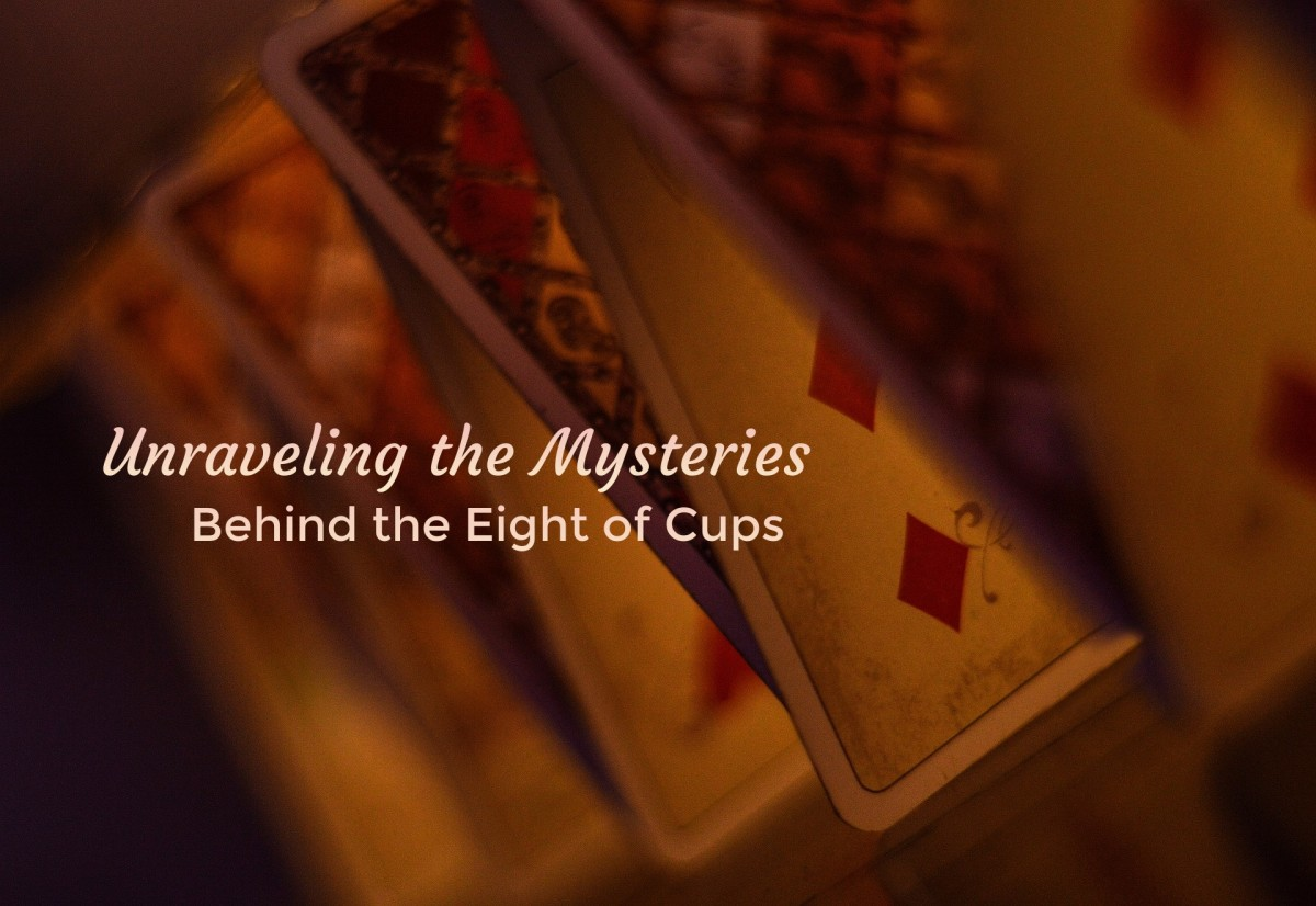 The Eight of Cups is about recognizing your disappointments and walking away from situations that don't fulfill you emotionally. The card is heavily associated with breakups.