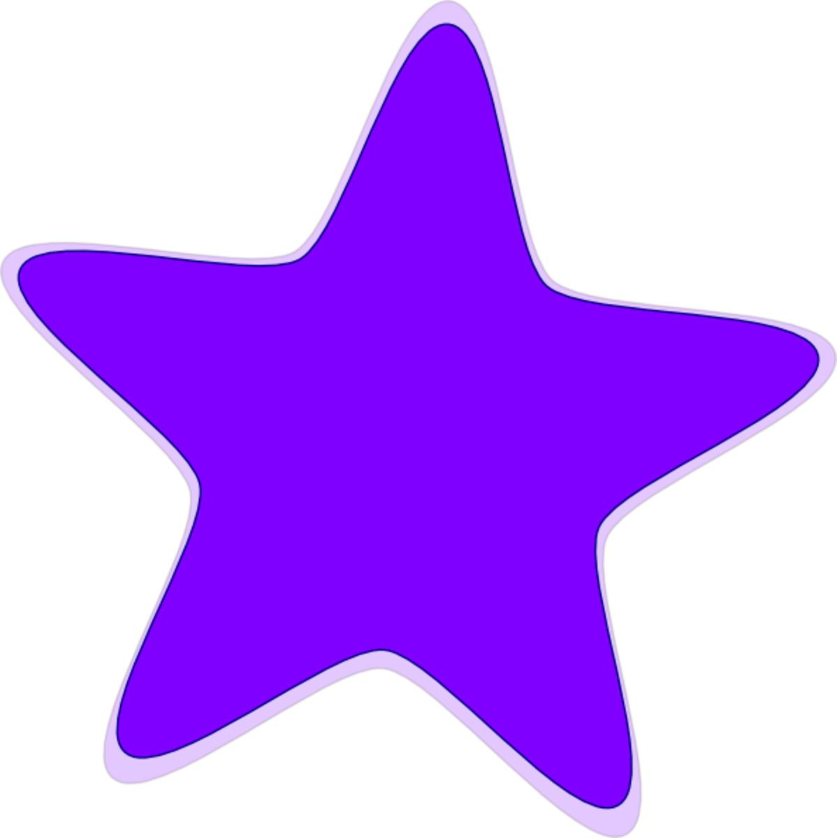 Pretty Purple Star!