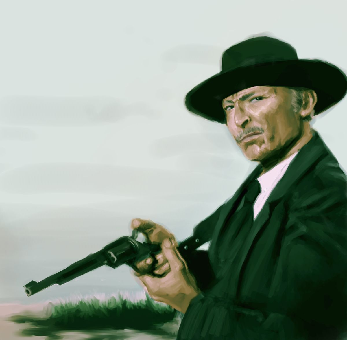 Lee Van Cleef plays Sabata