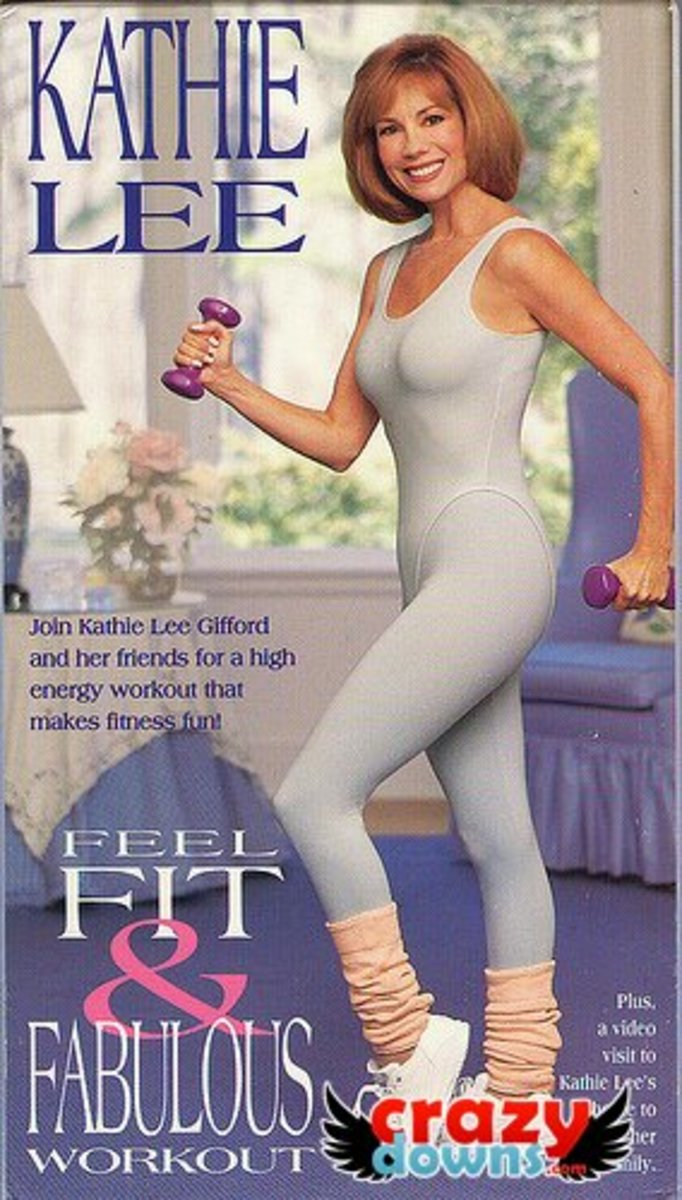 Kathie Lee was once into doing articles and photo spreads about health and fitness.