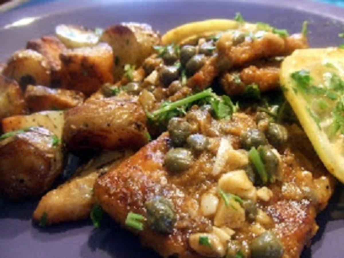Vegan (Tofu) Un-Chicken Piccata